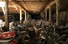 motorcycle graveyard
