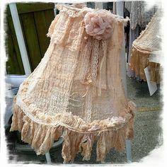 Heavenly Gauze Tattered Paris Rags shade!