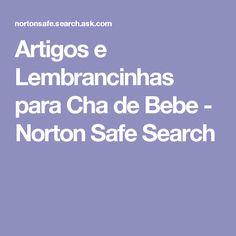Artigos e Lembrancinhas para Cha de Bebe - Norton Safe Search