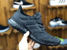 promo code 7f7fe 2c055 Adidas Ultra Boost 4. 0 Triple Black Bb6171 Mens Running Shoes bb6171