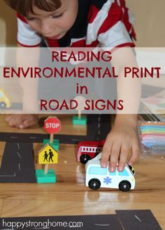 Reading Environmental Print in Road Signs