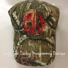 30 His And Her Hunter And Prey Woods Camo Hat Your Choice Of Thread Color For Couples Who