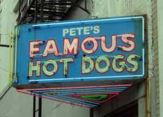 """Pete's Famous Hot Dogs DownTown Birmingham, Alabama    """"I used to love going to this place with my dad Roosevelt Pete Curry. My childhood memories before the age of 7 were amazing."""