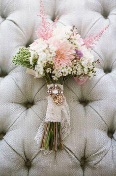 bouquet #flowers #jewels