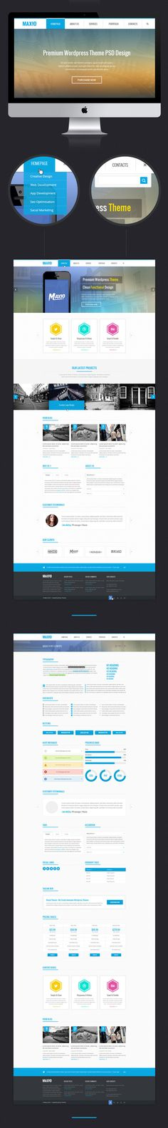 Maxio Multipurpose Website Template