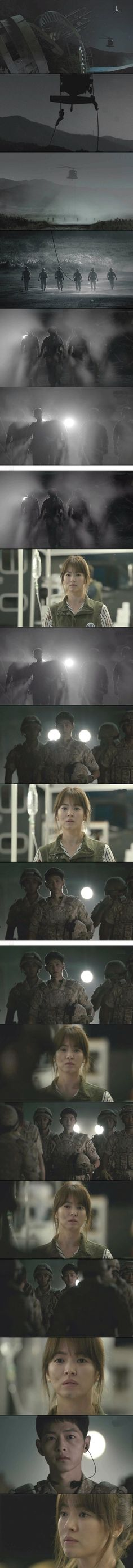 Descendants of the Sun (태양의 후예) Korean - Drama - Episode 7 - Picture @ HanCinema :: The Korean Movie and Drama Database