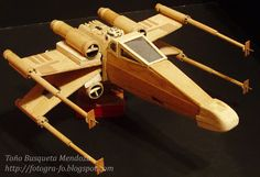 Wooden Star Wars X-Wing