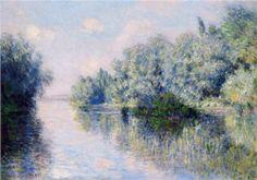 The Seine near Giverny - Claude Monet
