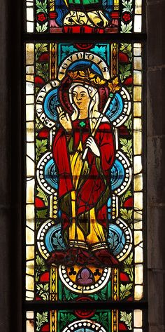 Stained Glass Panel with Queen Kunigunde. Date: 1340–50. Geography: Made in Carinthia, Austria.