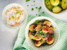 Sitruunaiset broileripyörykät ja porkkanaraita