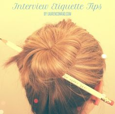 How to master an interview {great tips}