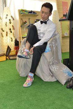L'attore ZhangYi, interprete di #dearest indossa le nostre Akkua R'Evolution al #festivaldelcinema !!
