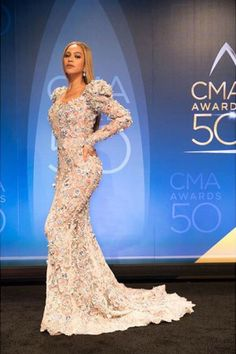 Of Course Beyoncé Was the Best Dressed Star at the Country Music Awards