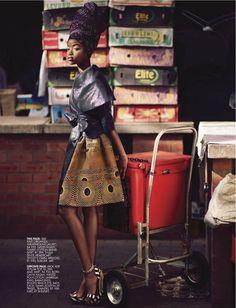 Sharleen Dziire For Elle South Africa January 2013