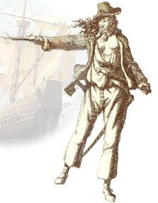 Anne Bonney and Mary Read. The most famous women pirates.