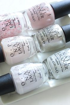 OPI Soft Shades Swatches Nude Nail Polish
