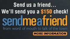 Send Me A Friend Referral Program How To Find Out, How To Make Money, Site Sign, Long Relationship, Word Of Mouth, Text Messages, St Louis, Honda, Website