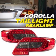 2010 2011 2012 2013 : toyota corolla. Style: LED Surface Emitting Tail Lamps. The tail lamps have the same connections and wires with the original cars. Package Included: One pair for one car use (Left and Right Lamp. | eBay!