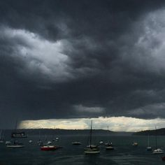 """A bizarre meteorological event hit the coast of New South Wales, Australia over the weekend. Dubbed a """"cloud tsunami"""" on Twitter, this massive wave in the sky measured several kilometers long and swept over the city of Sydney, bringing with it powerful thunderstorms, heavy rains, and forceful winds that required the Australian Bureau of Meteorology to issue a warning for the surrounding area. The massive formation is actually called a shelf cloud, composed of arcus clouds. The shelf cloud…"""
