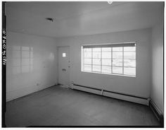 Interior of typical two-bedroom unit in Type A residential building.  View to southwest. - Lincoln Park Homes, Type A Residential Building, West Colfax Avenue & Marispoa Street, Denver, Denver County, CO