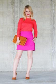a5922a4f614 red and pink! How To Look Rich
