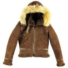 Womens Hooded B3 Bomber Jacket