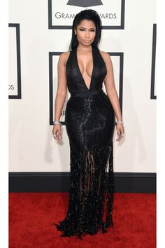 Nicki Minaj - Grammys Red Carpet 2015