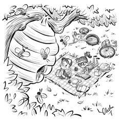 Inktober 2016 Day 12 - Worried - Chelsea Trousdale Illustration