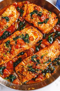 Tuscan Garlic Butter Salmon – – This easy and healthy salmon recipe takes just a few minutes of prep and makes a perfect weeknight meal in 30 minutes or less. – by Tuscan Garlic Butter Salmon – – This easy and healthy salmon recipe takes just a few … Garlic Salmon, Baked Salmon, Tuscan Salmon Recipe, Pesto Salmon, Salmon Pasta, Salmon Dishes, Fish Dishes, Seafood Dishes, Healthy Foods
