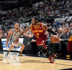 Tony Parker and Kyrie Irving