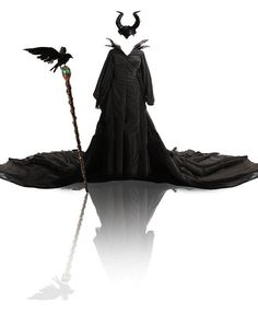 Maleficent Angelina Darkness Witch Costume Cosplay by Frozendress, $229.00