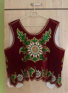 gorset góralski - Szukaj w Google Folk Costume, Costumes, Folk Embroidery, Doll Patterns, Peplum, Crochet, Polish, Women, Google