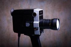 Photo Camera Lamp / Retro Light / Nightlight Lamp / Table