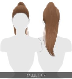 Karlie Hair for The Sims 4 by Simpliciaty