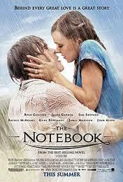 The Notebook : Favorite Movie. Makes me cry