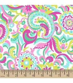 Snuggle Flannel Fabric-Floral Paisley