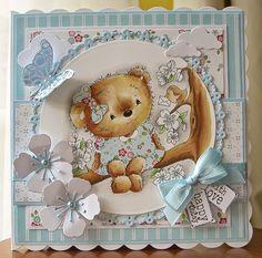 Mrs B's Blog: Blossom Teddy at Di's Digi Designs