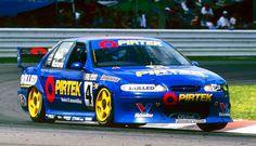 Bathurst V8 Supercars 1998 winner Jason Bright ans Steven Richards