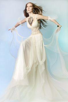 Cabo Verde Dress by Victoria KyriaKides Futuristic Grecian Bridal Collection. www.VictoriaKyriaKides.com #weddingdress #bridaldress