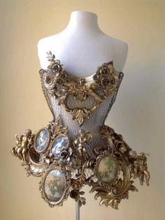 Buy steampunk goggles/sunglasses, steampunk watches, jewelry, assassin's creed hoodies, steampunk corsets and more. Steampunk Accessoires, Mode Steampunk, Style Steampunk, Steampunk Fashion, Steampunk Corset, Victorian Steampunk, Fashion Art, Fashion Outfits, Fashion Design