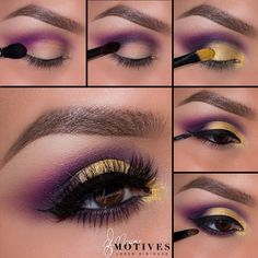 "using all @motivescosmetics 1.Begin by applying ""Birch"" onto the brow bone! Then taking ""Ecstasy"" shadow apply in the outer ""V"" sweeping the color into the crease 2.Taking ""Onyx"" apply to the outer corner of the eye and slightly in the crease 3.Using ""Angel eye Khol"" apply to the lid and smudge to create a light base for the pigment to stick to (this also helps the color become more vibrant! Taking ""She Sparkles"" pigment apply to the lid and into the inner corner of the eye 4.Apply a winged…"