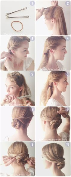 A CHIGNON FOR A FASCINATOR | Shes Beautiful