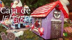 """DIY ¡Decora con una casa de """"jengibre"""" hecha por ti! - YouTube"""