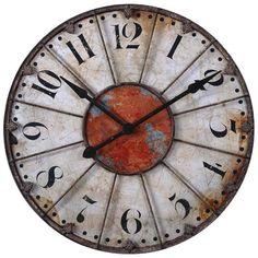 Ellsworth Wall Clock - Clocks - Home Accents - Home Decor   HomeDecorators.com