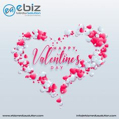 Have an amazing #Valentine's Day filled with feelings of #love & #joy. Wish You a #HappyValentineDay from #TeamEbizMediaSolution