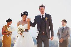 [Dress] [Flower] Laid-Back Cali Ranch Wedding: Sam + Brian