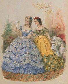 1860s Fashion Plate