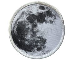 Patch - Moon Patch - Heat Seal / Iron on Patch for jackets, shirts, tote bags…