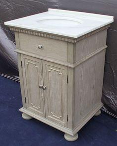 Gallery Website  inch Bathroom Vessel Vanity Travertine Top Single Stone Sink Cabinet TR Sink top Vanities and Travertine