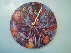 Rave clock designed and illustrated by junior tomlin £120